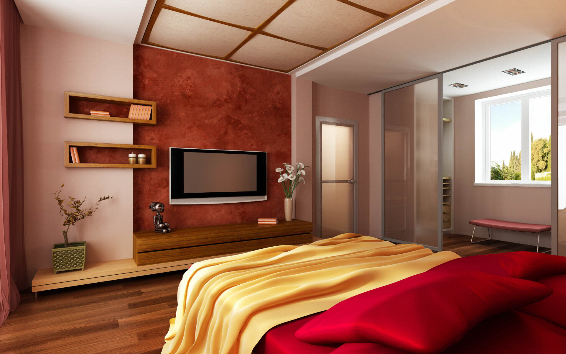 Schlafzimmergestaltung  Schlafzimmergestaltung